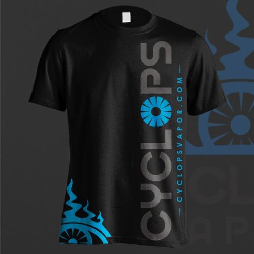 Vapor Themed T-shirt Design
