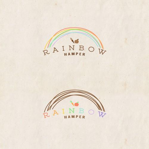 logo for an organic food hamper company