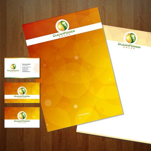 Clean Power Solar : looking for an innovative logo