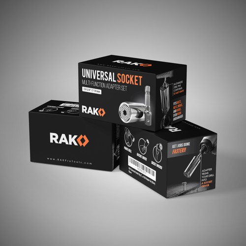 Packaging design for RAK
