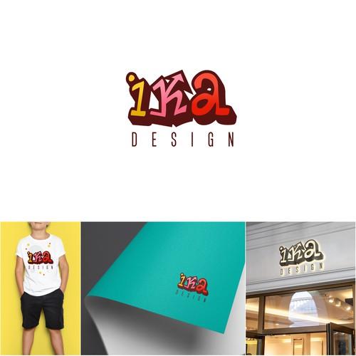 Logo for a children's clothing brand