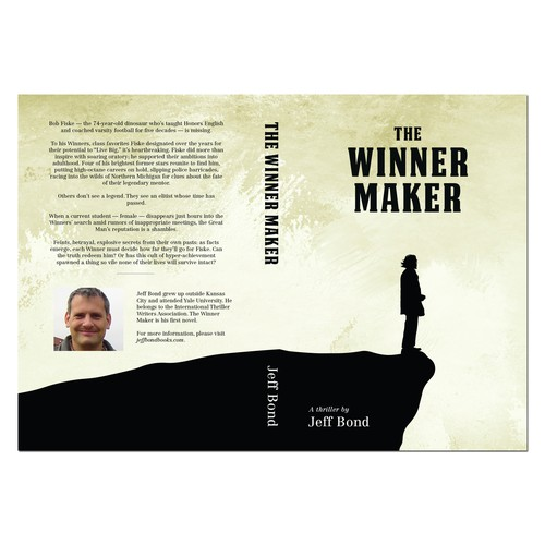Book Cover Concept for Jeff Bond's The Winner Maker