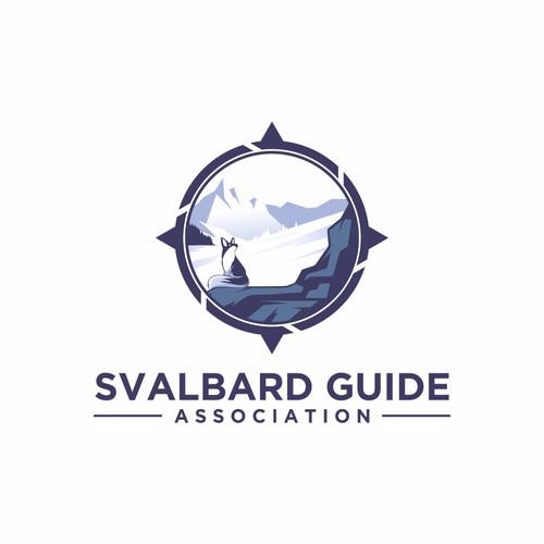LOGO FOR SVALBARD GUIDE ASSOCIATION