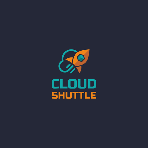 Modern logo for IT company: Cloud Shuttle