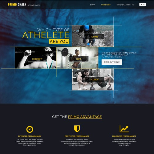 Home page for Athletic Chalk