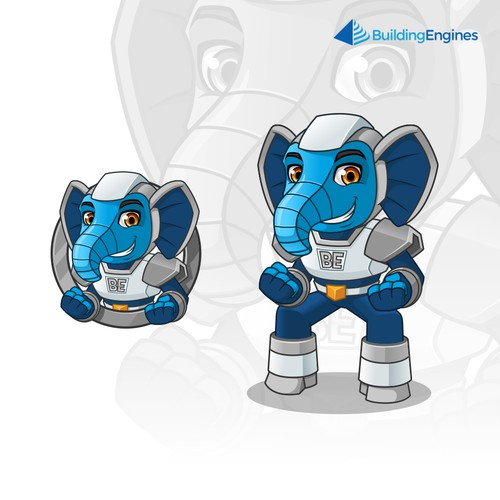 Mascot Design for Building Engines