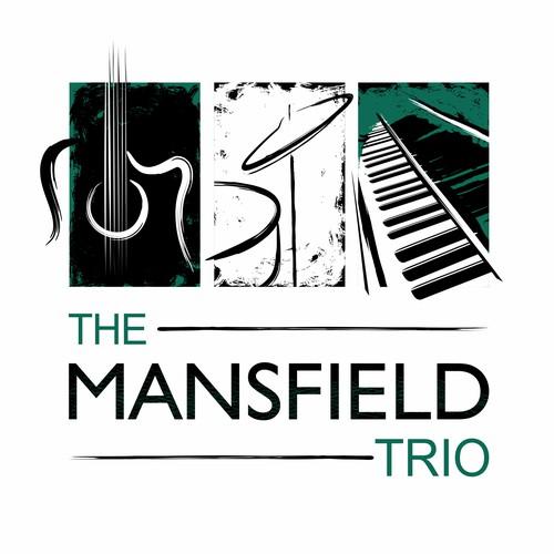 The Mansfield Trio Band Logo Design