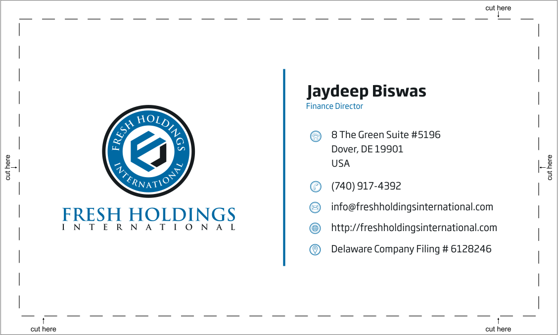 Private Equity and Investment firm - logo and business card