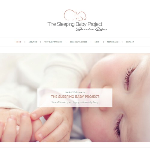 The Sleeping baby project