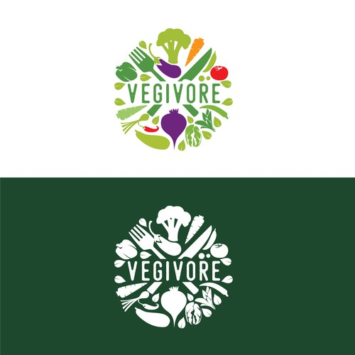 Logo Design for Veggie-centric Restaurant