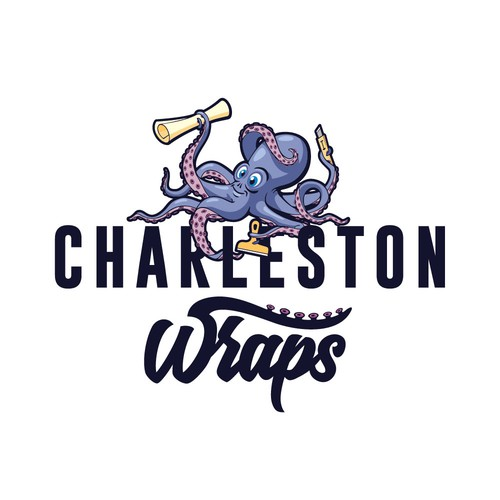 Charleston Wrap company logo