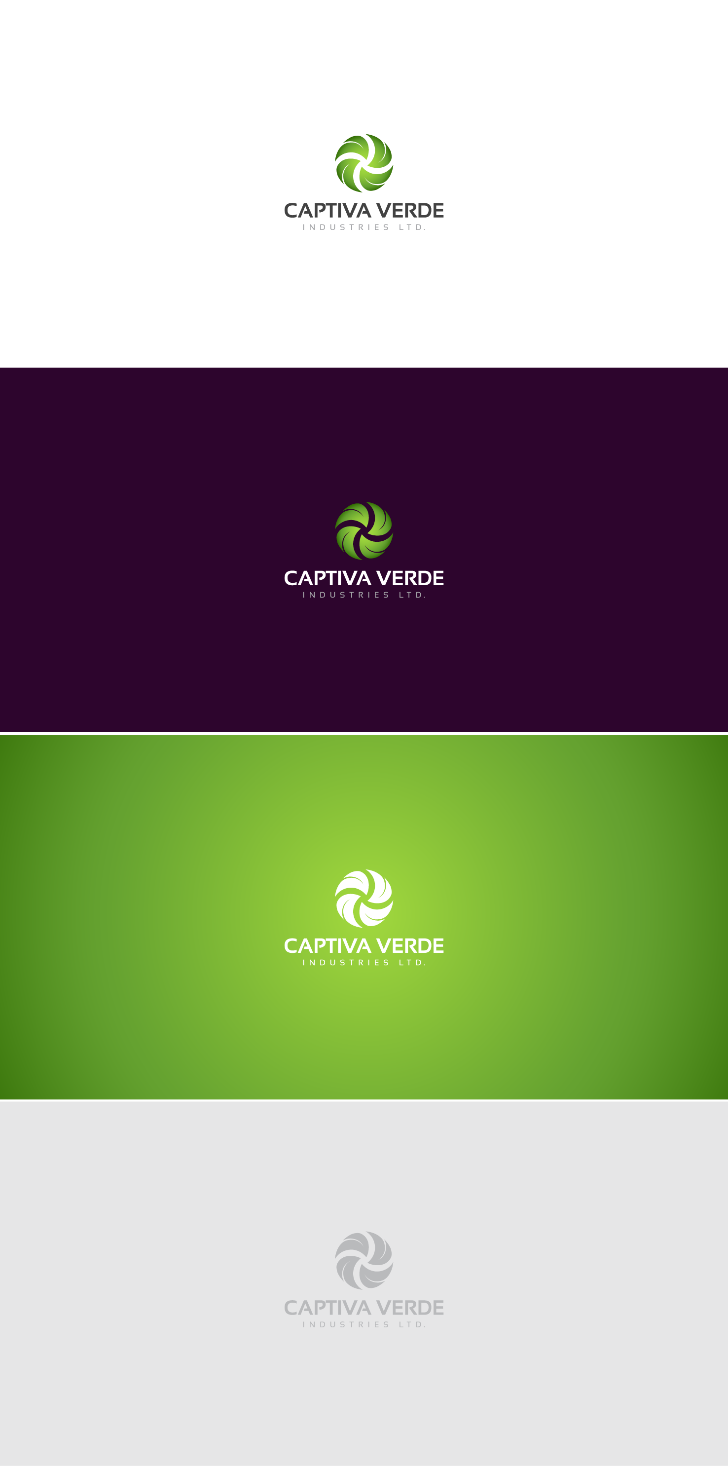 Create a logo for a commercial producer of organic leafy vegetables