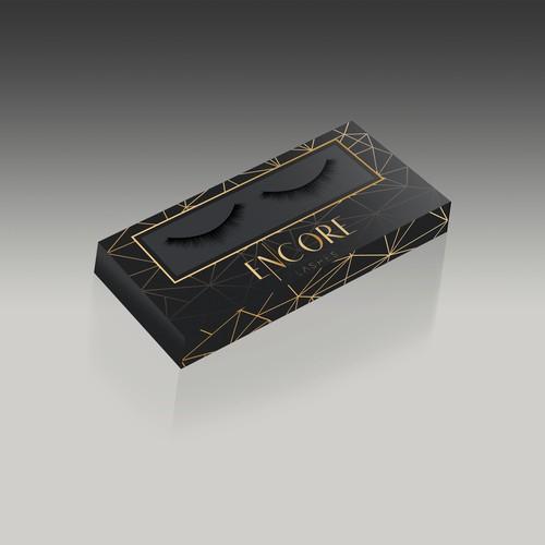 Eye-Lashes Box Design