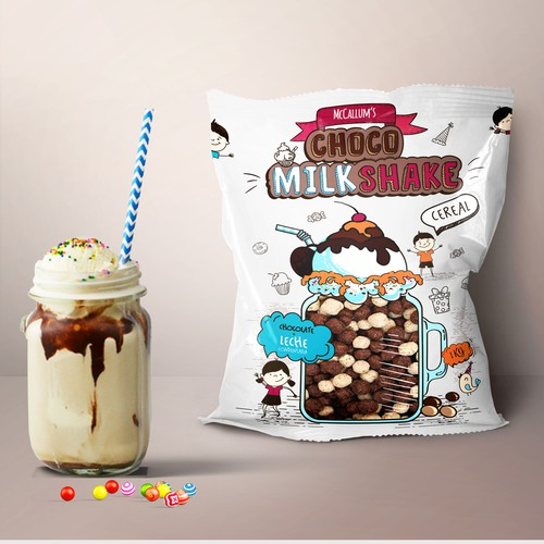 Package for Choco MilkShake Cereal