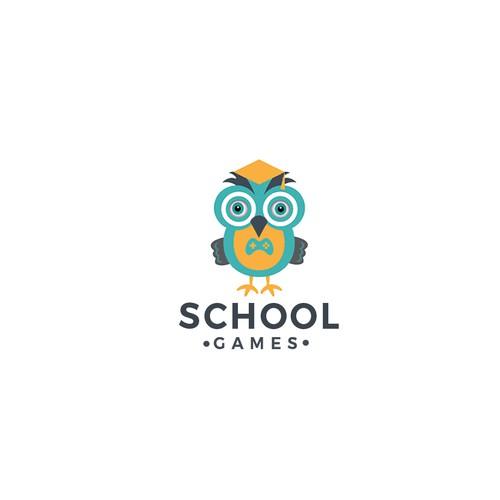 SCHOOL GAMES LOGO DESIGN