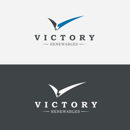 Logo concept for Victory Renewables