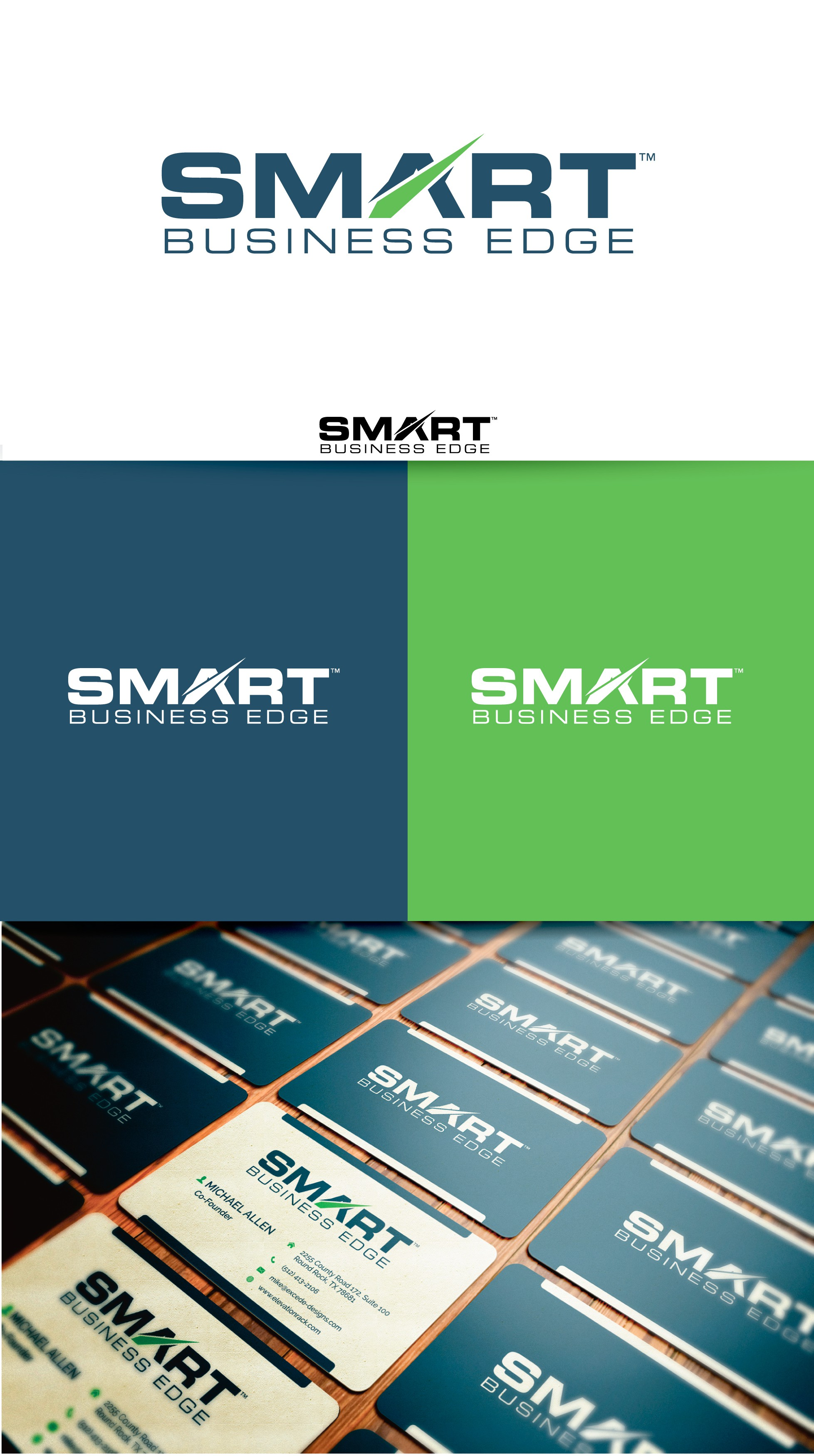 Help me Create THE PERFECT LOGO for:  Smart Business Edge!!