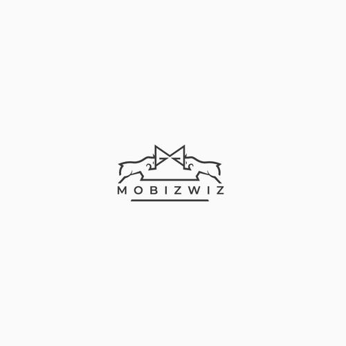 Logo concept fot a goat