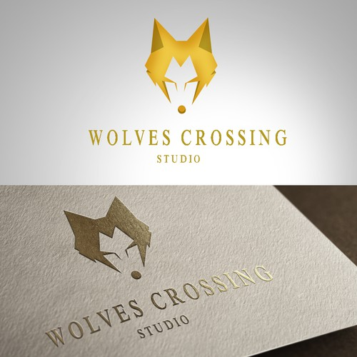 Create a wolf Logo for a high end jewelry design firm