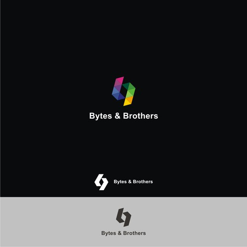 logo design for Bytes & Brothers