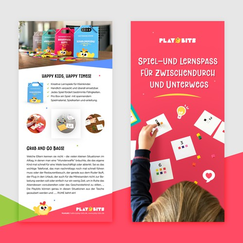 Flyer Concept for Educational Kids