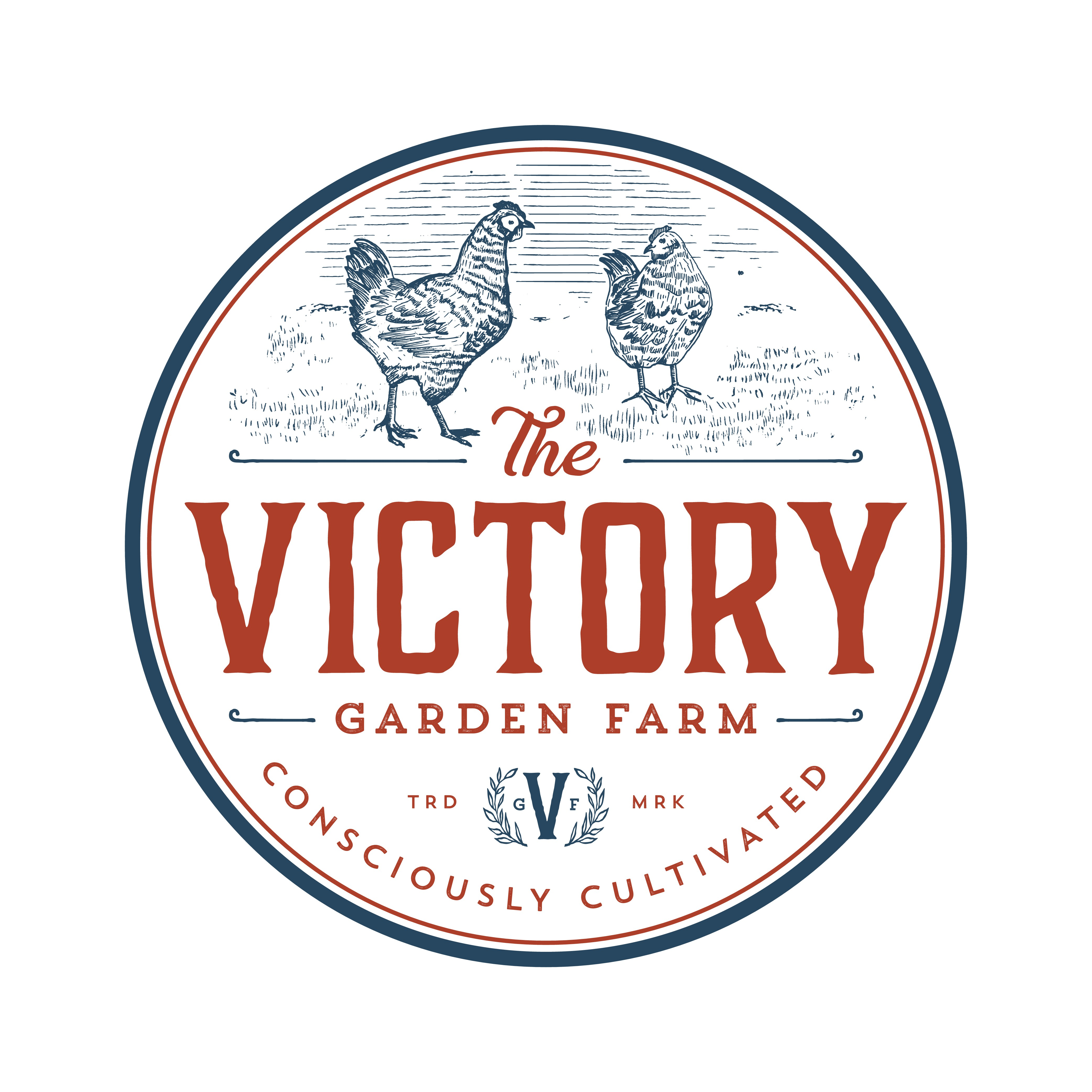 Create an iconic vintage design to represent and embody our small organic farm.