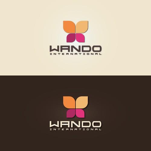Wando International logo concept