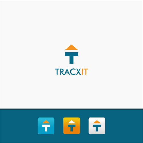 Simple Logo Design for App Tracking