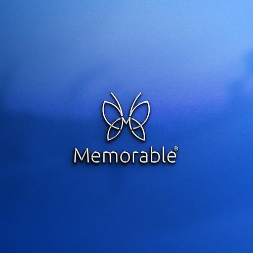 "Logo concept for ""Memorable"""
