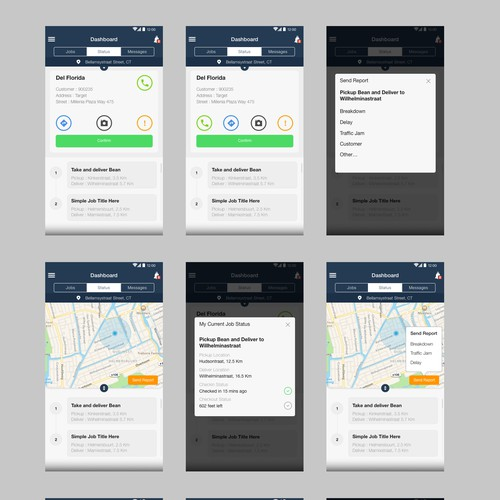 Delivery Services App