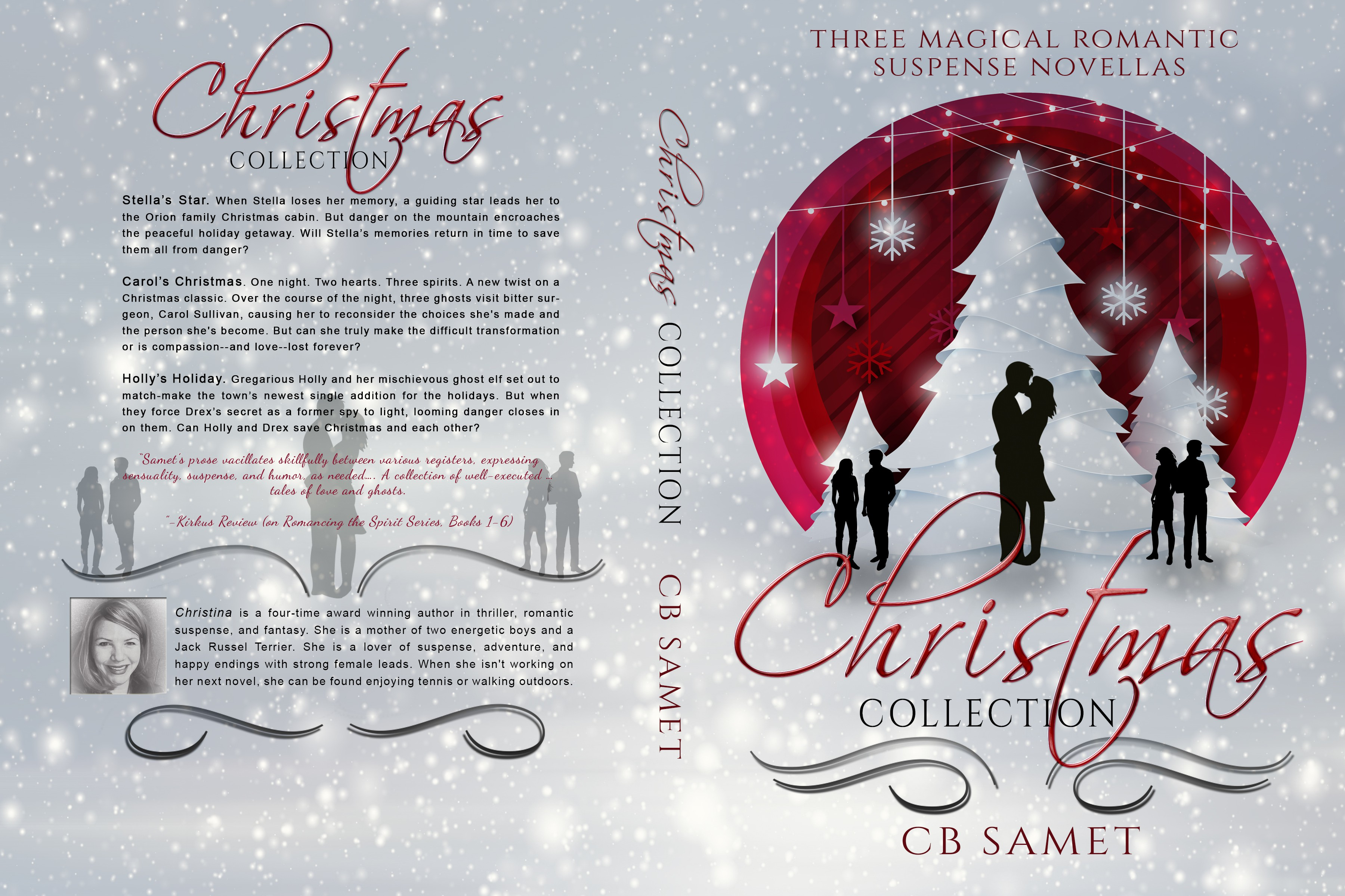 Eye-catching Christmas Collection Book Cover