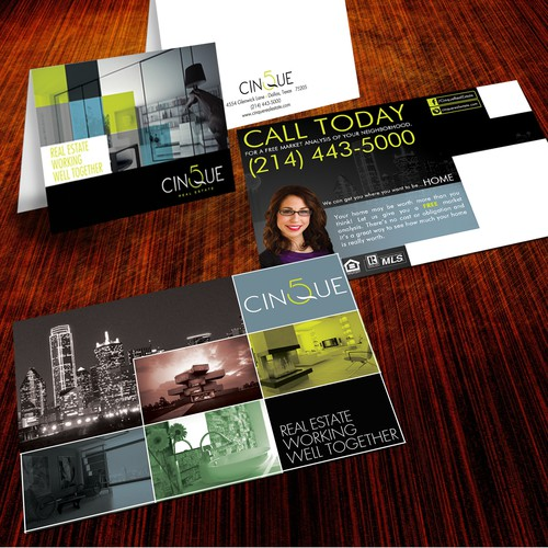 Postcard design wanted for Cinque Real Estate
