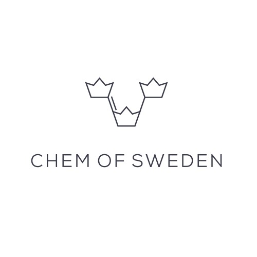 Logo concept for chemical production company