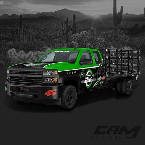 CAM CONTROL Truck Wrap