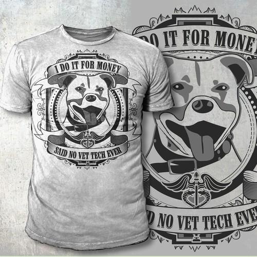 Vet tech t-shirt - GUARANTEED