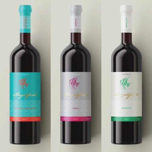 Nuove proposte di etichette per Azienda vitivinicola Australiana