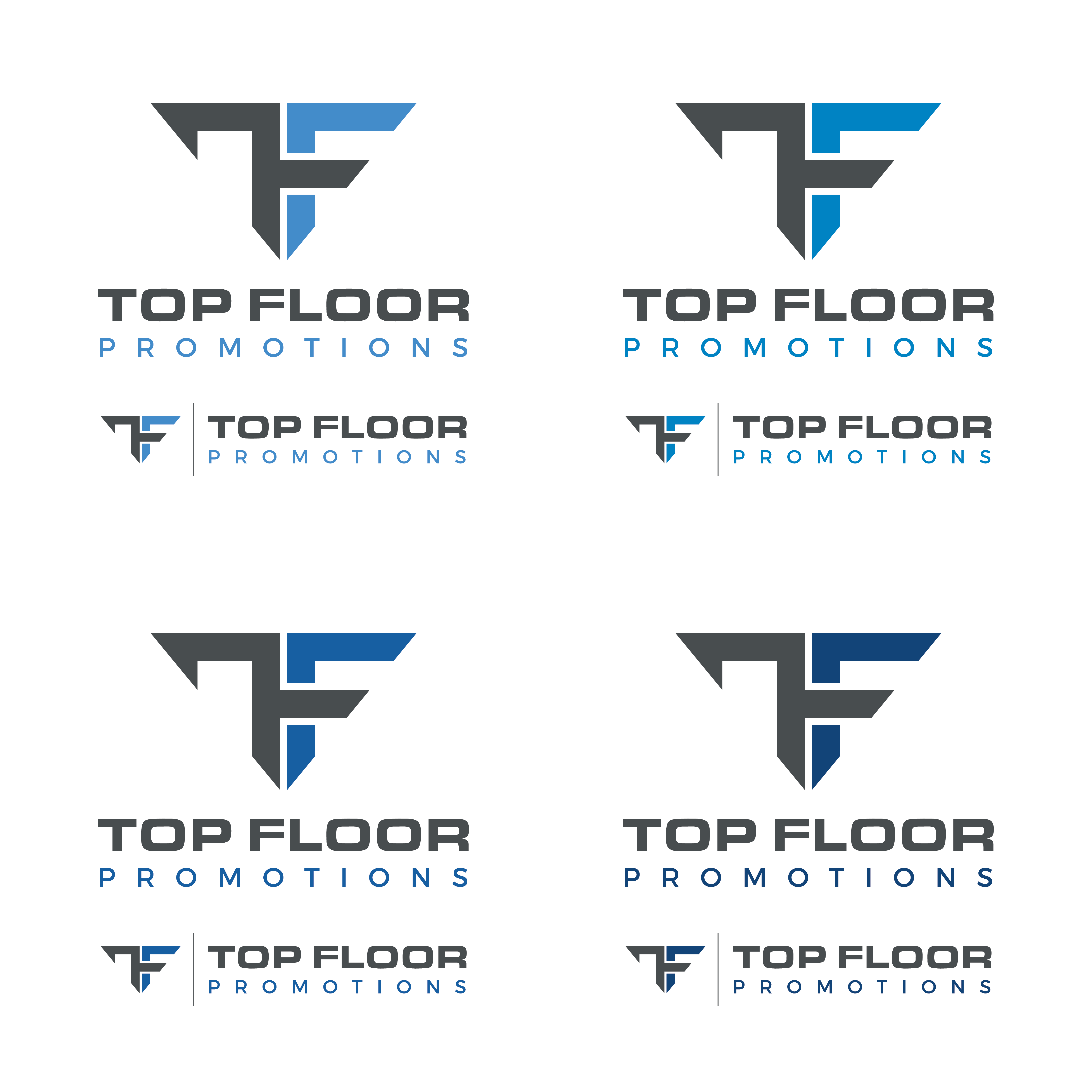 Top Floor Promotions needs a cool executive LOGO!  You're Up!