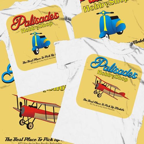 Create the next t-shirt design for Pali Vintage