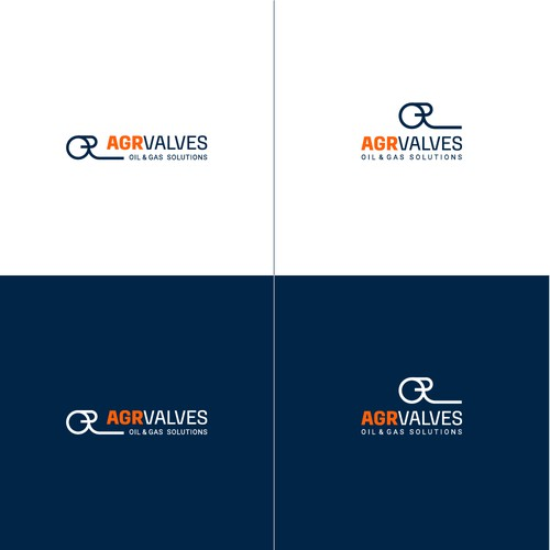Logo for AGR Valves company, oil and gas solutions