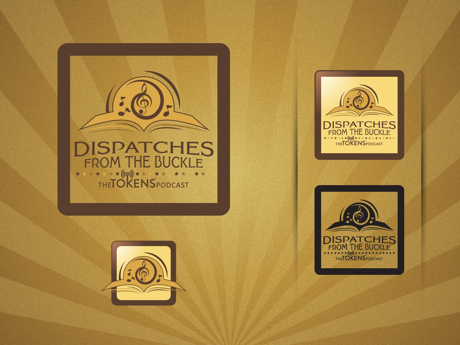 Create the next logo for Dispatches from the Buckle