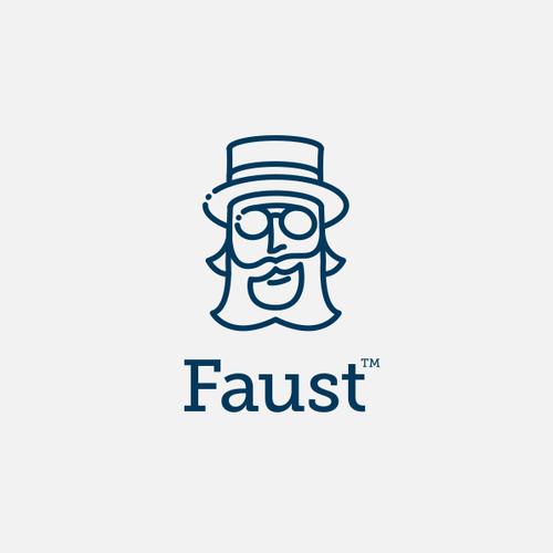Logo mark for a hip social app