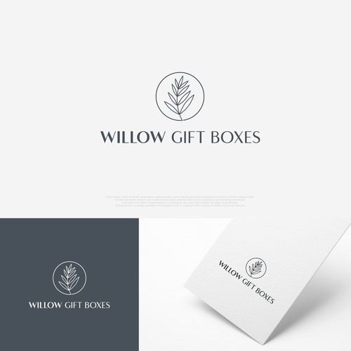 Logo for Willow Gift Boxes