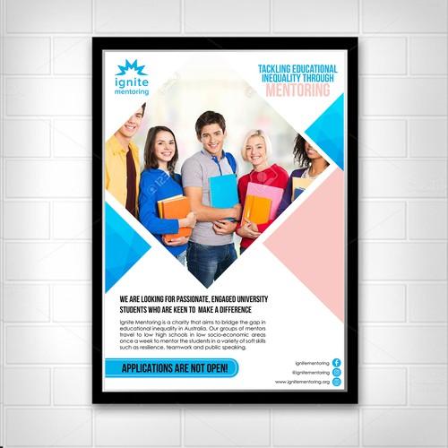 Ignite Mentoring Flyer/Poster