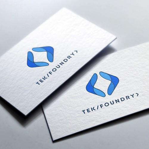 TekFoundry Logo Design