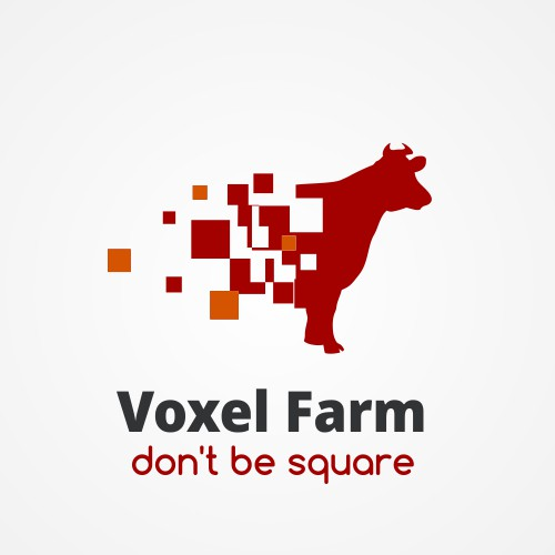 "Looking for a logo for ""Voxel Farm"""