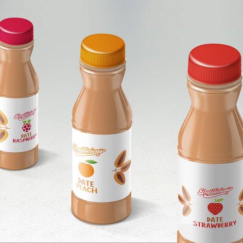 Bottle Label for Datilicious