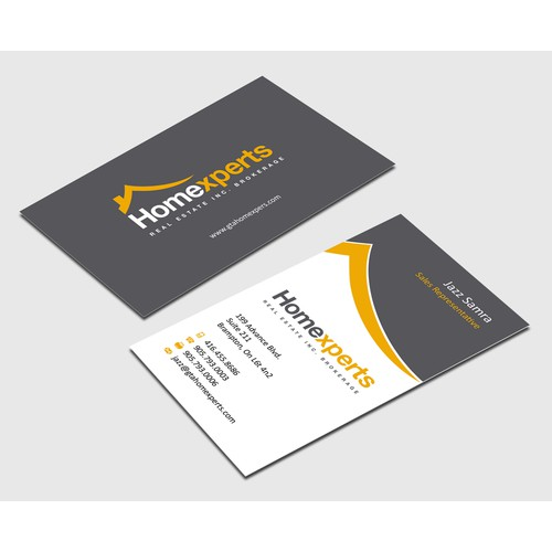 Help Homexperts with a new business card