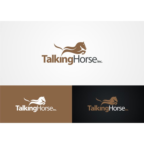 Create a Logo for Talking Horse, Inc.