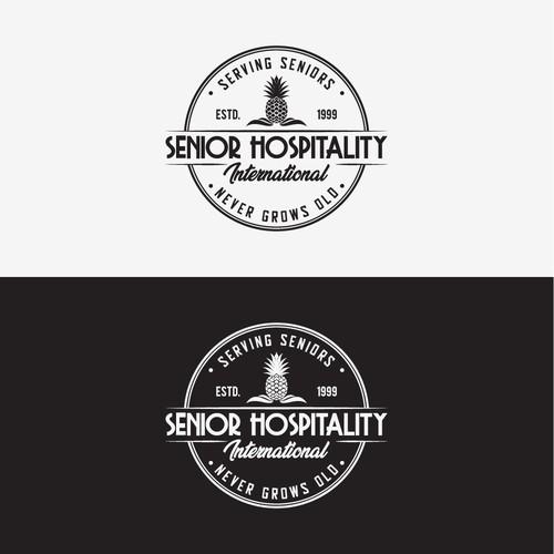 Senior Hospitality Vintage Logo
