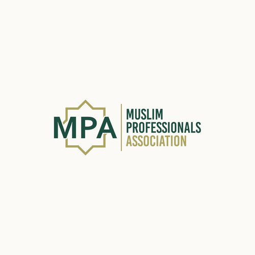 bold concept simple and clean for MUSLIM POFESSIONALS ASSOCIATION